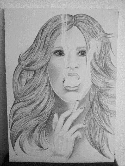 Smoking hot. Drawing smoke is the hardest thing...