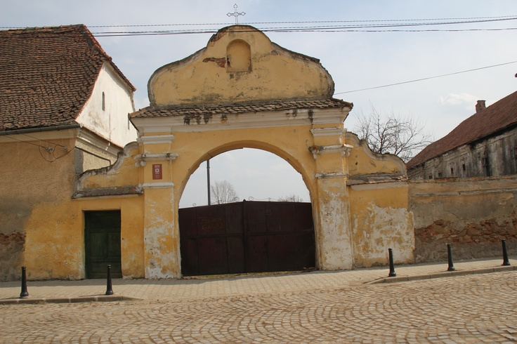 Beautiful baroque gate in Tg. Secuiesc/Kezdivasarhely