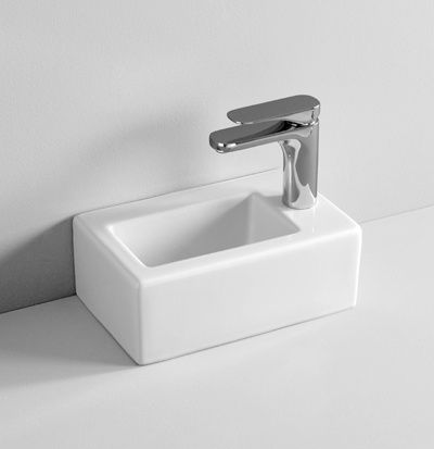 TFL031 wall hung countertop washbasin 32 X 20