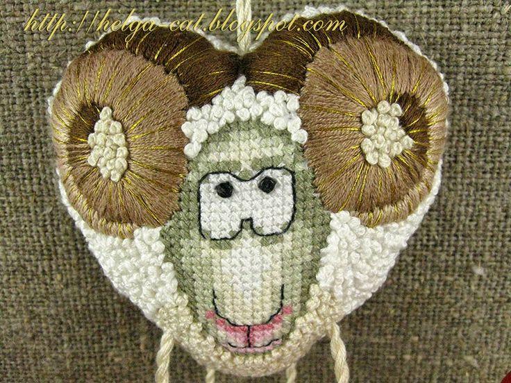 Домик вышивающей кошки: Камасутра с бараном, или Я его вышила!!! )))