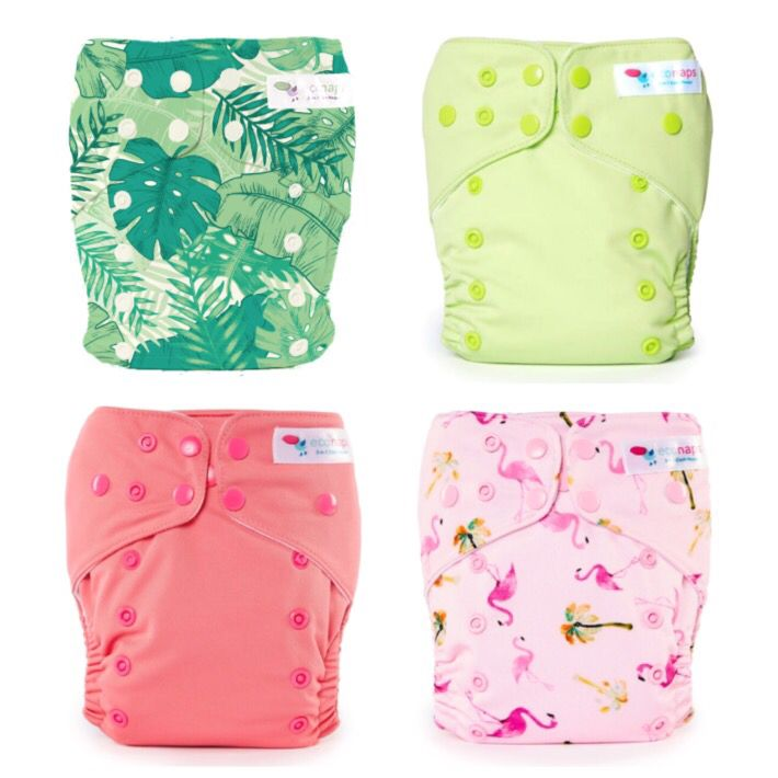 Paradiso Collection   EcoNaps Designer Modern Cloth Nappies, hand styled in Byron Bay, Australia. Reusable,  Eco friendly Organic stylish baby diapers.