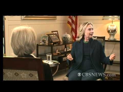 """Hillary Clinton on Gaddafi: """"We came, we saw, he died"""" - what a horrific murder, and what utter chaos and death has followed throughout Libya - YouTube"""