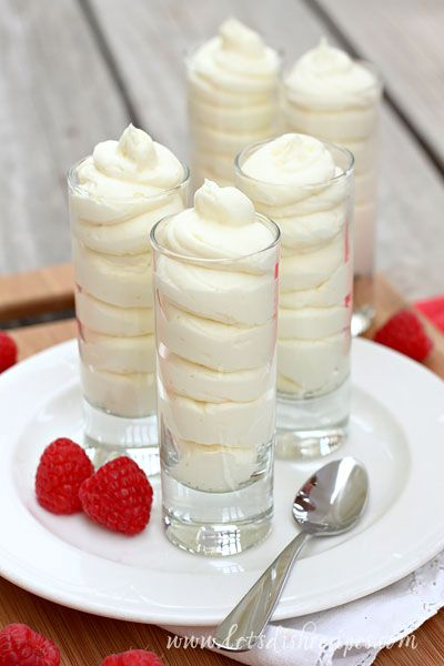 Lemon Cheesecake Mousse | Let's Dish Recipes