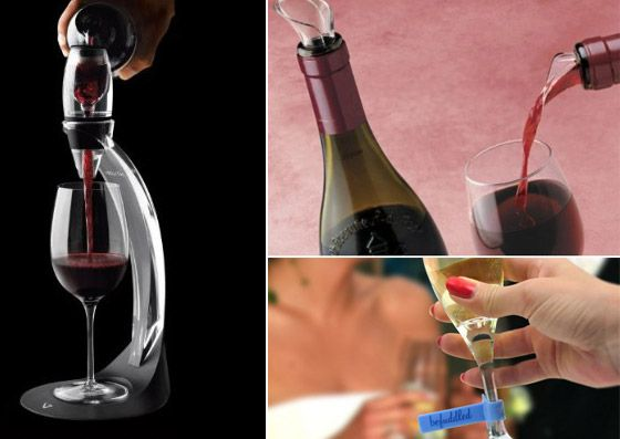 Cool Wine Accessories and Gadgets