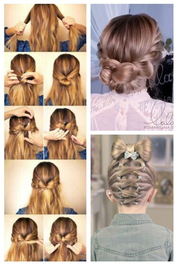 Step By Step Hair Bow Easyhairstyles Easy Hairstyles For Graduation Bow Easy Easyha Easyhairstyle Easy Hairstyles Hair Styles Graduation Hairstyles