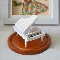 Quilling Carta 3D Bianco Pianoforte Modello Muffa Kit Casa Decorazione Regalo DB