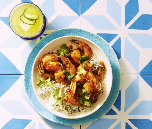 Saucy Prawn Curry