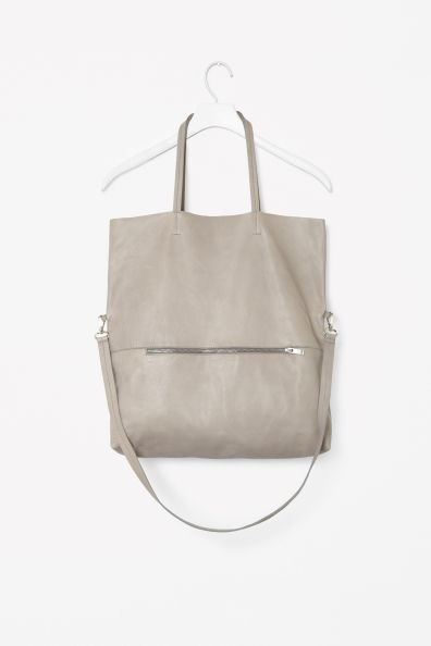 Soft Leather Bag - chic minimal accessories // COS