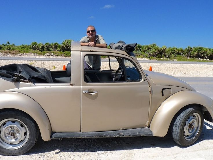 Around Cozumel with our Mexican VW