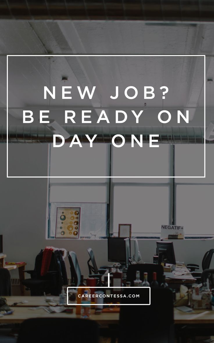 Survive The First Day Of Your New Job By Following These Tips From An Ex