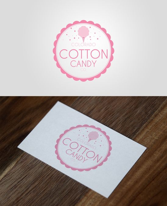Create a logo and website for new Cotton Candy vendor! Need clean and simple w/ a little whimsy by N Designs