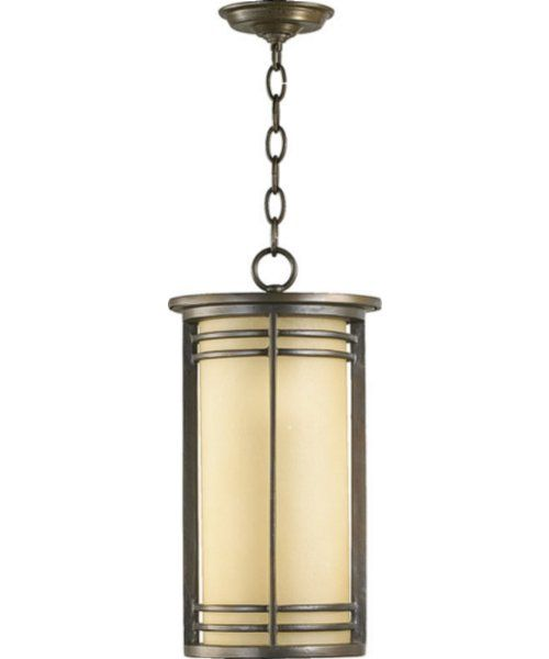 Quorum Larson 1-Light Outdoor Pendant Oiled Bronze 7917986