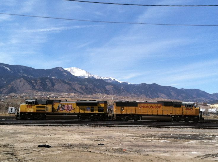 New Union Pacific and Pikes Peak Colorado