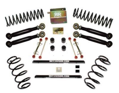 2003 JEEP WRANGLER (TJ) Skyjacker 2.5 Inch Value Flex Lift Kit with Nitro Shocks: 2.5 Inch Value… #AutoParts #CarParts #Cars #Automobiles