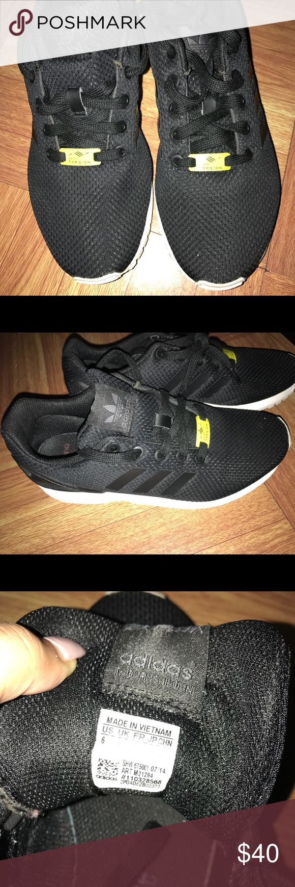 Adidas torsion ZX Flux Very comfortable sneakers. Worn a couple of times. Size 6. Selling for $35. Need gone ASAP. adidas Shoes Athletic Shoes