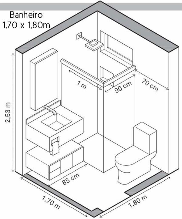 25 melhores ideias de banheiro simples no pinterest for D i y bathroom installations