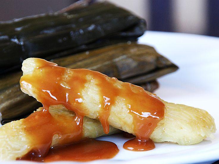 Suman Wrapped Rice Cake Is A Delicious Native Filipino Food Often Eaten With Ripe Mangoes Or Simply Dipped In Sugar It Is Made Of Steamed Sweet Sticky