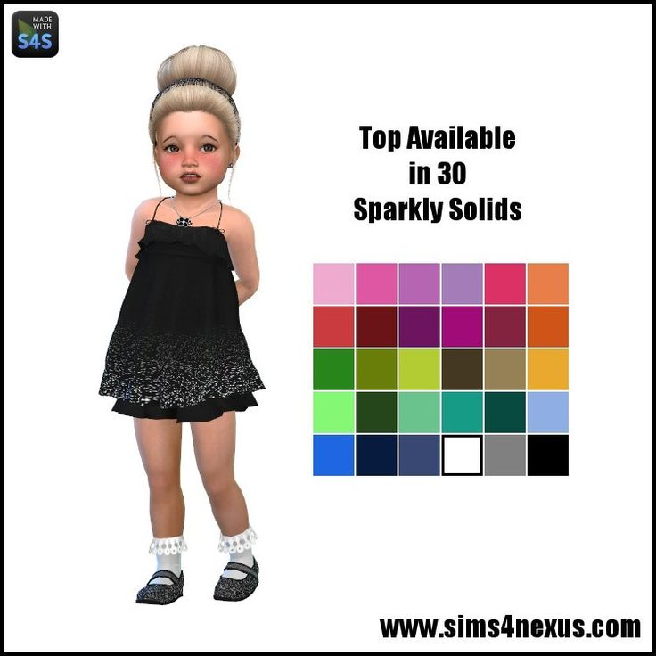 Breezy -A Top for Toddler Girls- | GO TO DOWNLOAD... - Sims 4 Nexus