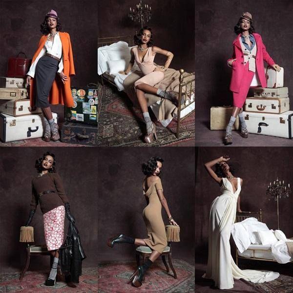 Az idei őszi-téli Pre Collection is mutatja, a Dsquared2 tervezői odavannak a vintázs stílusért, ahogyan mi is. #fashionfave #vintage #dsquared #precollection
