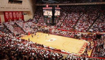 Assembly Hall: Bloomington, Indiana and home of the Hoosiers. Home of the last undefeated National Championship team in NCAA history (to date) back in 1976. Five time National Champions and quite possibly the best place to watch a college basketball game.