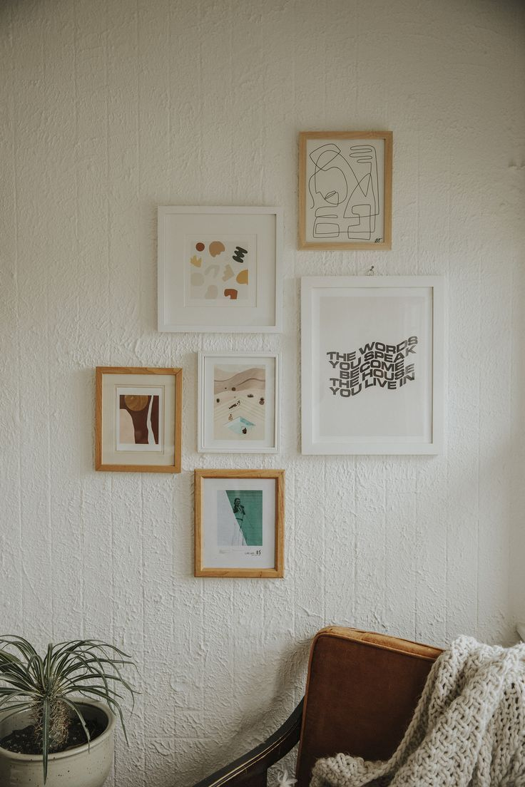 Gallery Wall On A Budget Diy Wall Decor For Bedroom Wall Decor