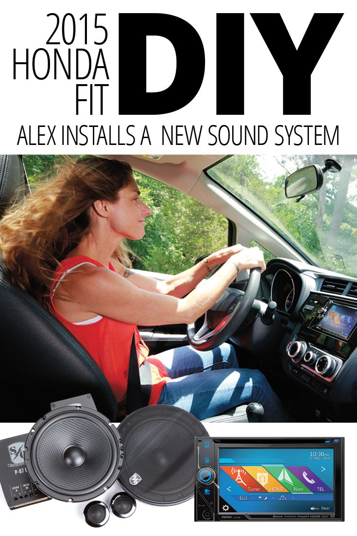 Alex, one of Crutchfield's web designers, discussed her displeasure with the factory audio system in her 2015 Honda Fit with Stephen, who happens to be one of Crutchfield's mobile electronics buyers.