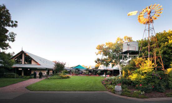 A beautiful wedding setting that is quintessentially Australian. Photo: John Mitchell