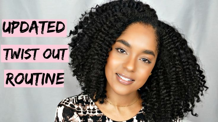 HOW TO Natural Hair Twist Out Routine for Definition, Volume and Length | Natural hair styles ...
