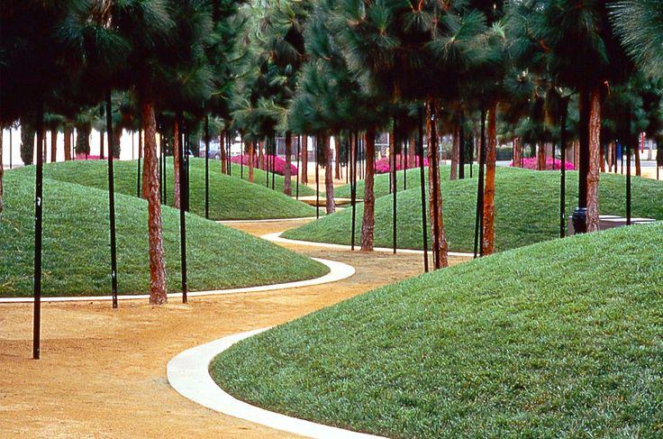 Marina linear park san diego ca usa martha schwartz for Landscape design usa