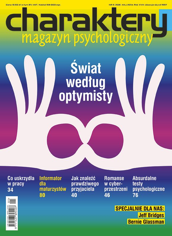 "Majowe ""Charaktery""! Temat to #optymizm. Polecam! #psychologia"