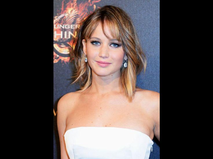 Lagom långt hår, passar super snyggt på Jennifer