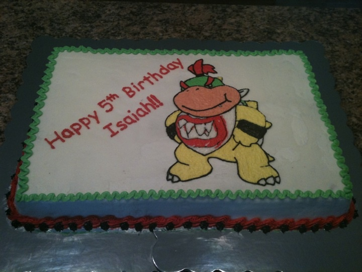 Bowser Jr Cake Cakes I Have Made Pinterest Cakes