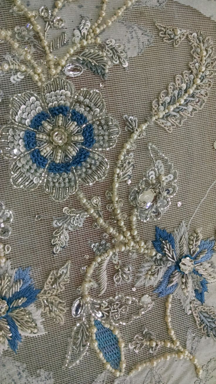 Best 261 Needle Arts Tambour Embroidery Images On