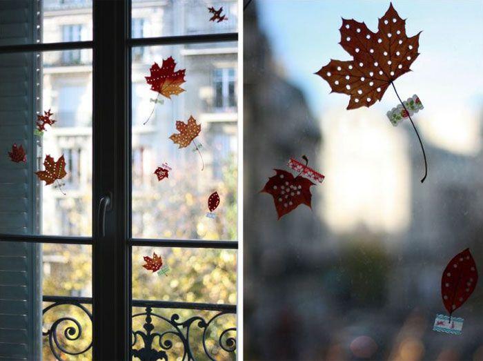 Украшения на окна.