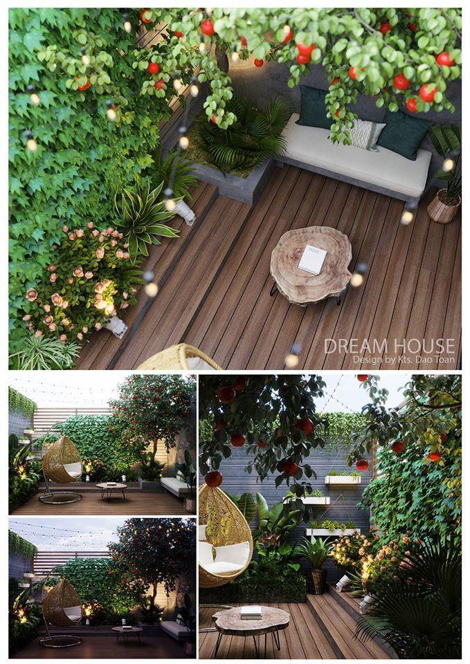 3d Exterior Garden Scene Model 3dsmax Free Download By Tony Toan Exterior Architectural Elements Garden