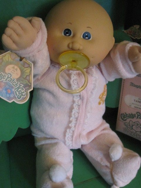 "Original 1983 Coleco Cabbage Patch Kids Doll ""Tammy Leena"" Baby New In Box . #DollswithClothingAccessories"