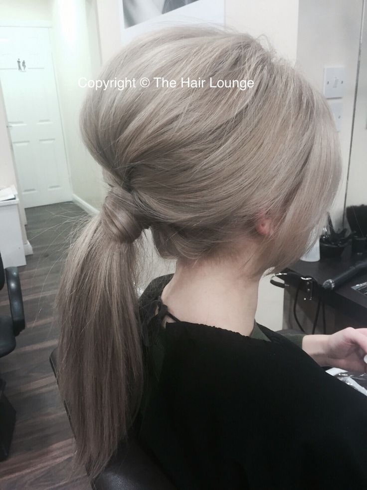 Evening ponytail night out hair