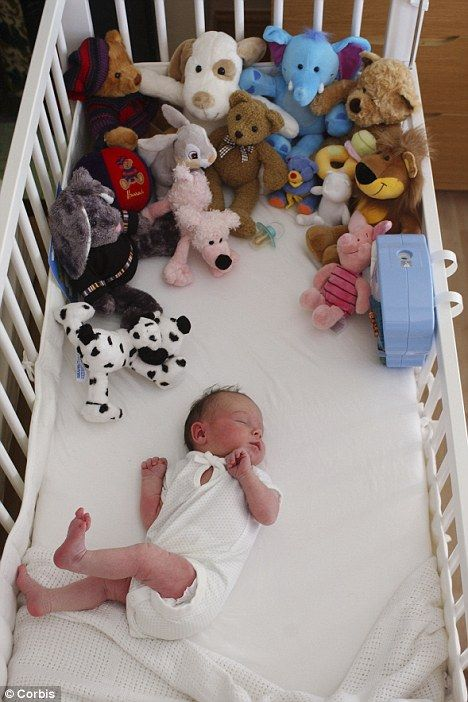 Best Crib Toys For Babies : Best images about unsafe sleep environments for babies