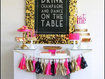 28 Amazing 30th Birthday Party Ideas {also 20th, 40th, 50th, 60th}