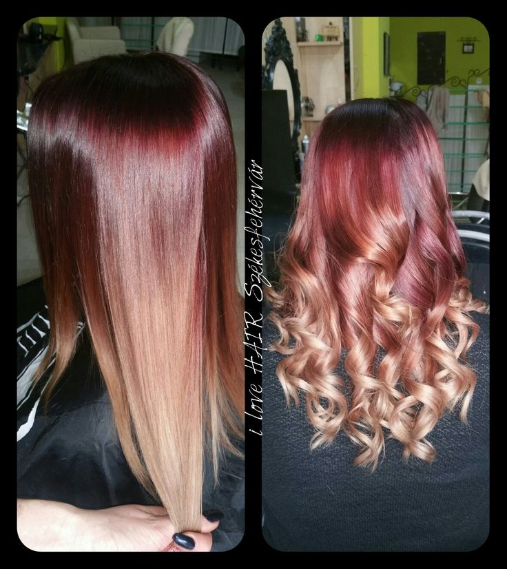 1000 Ideas About Burgundy Blonde Hair On Pinterest
