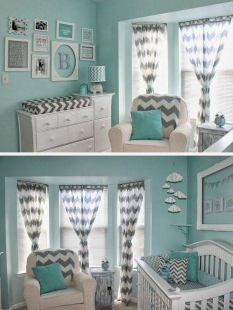 Best Blue Nursery Girl Ideas On Pinterest Baby Room Aqua - Light pink nursery decor