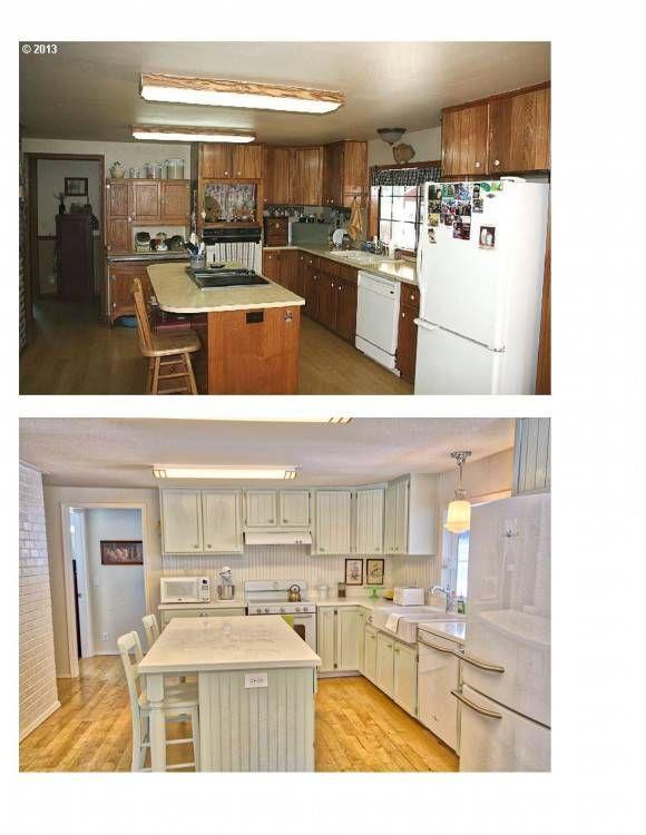 Kitchen Ideas Old House Manufactured Home Remodel Remodeling Diy