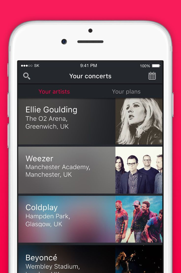 One of these apps will actually help you score free concert tickets.