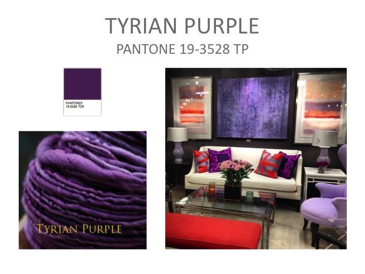 1000 images about tyrian purple shaw color forecast for Purple makes you feel
