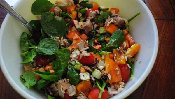 How to Make the Perfect Big-Ass Salad (and the Best Dressing Recipe—Ever): Salad Dressing Recipes, Salad Recipes, Almonds, W Orange Almond, Almond Dressing, Big Ass Salad Dressing, Salad W Orange, Big Healthy