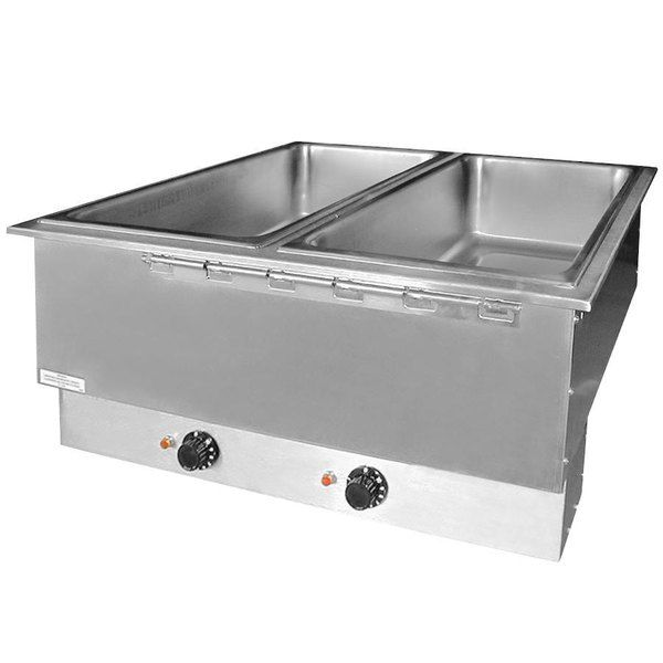 Apw Wyott Hfwat 3 Insulated Three Pan Drop In Hot In 2020 How To Install Countertops Metal Countertops Hotel Supplies
