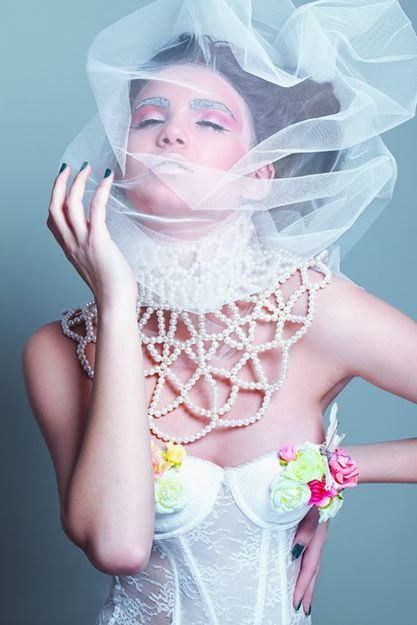 Creative Concept & Styling: Vanda Petrescu Necklace: #MarieAntoinette #Bridal by ZazieV Make-up Artist: Diana Enaiche Hairstylist: Ioana Iulia Goicea Nails: Teodora Vamvu Photo: Bogdan Dậncu Model: Loredana Varga MRA Agency Cinematography and video editing: Andreea Gruioniu  concept and project developed by pamplaisir