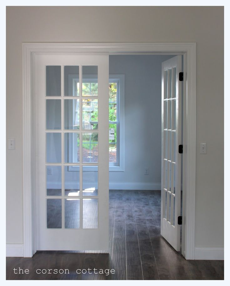 The Corson Cottage: Our Renovation   Interior French Doors | Home |  Pinterest | Interior French Doors, Doors And Dark Wood