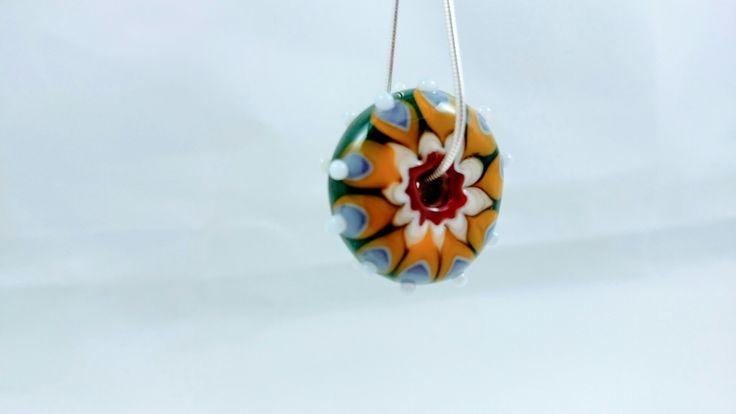 Lampwork bead by Nuartbead