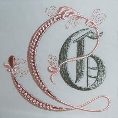 Fleur de Lis Alphabet- G: